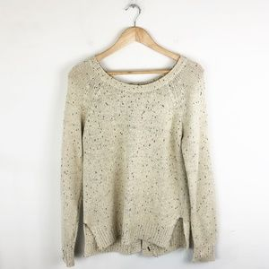 Market & Spruce Elbow Patch Sweater